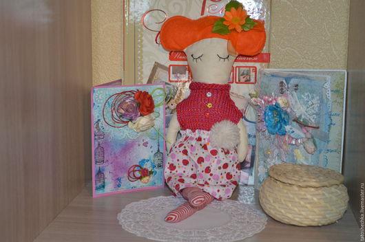 Развивающие игрушки ручной работы. Ярмарка Мастеров - ручная работа. Купить Куколка Марьяша. Handmade. Кукла, интерьерная игрушка