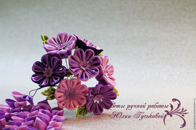 Цветы канзаши лучшее фото и описание взгляд без
