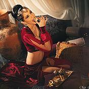 """Одежда ручной работы. Ярмарка Мастеров - ручная работа Костюм для танца живота """"Великолепный век"""". Handmade."""