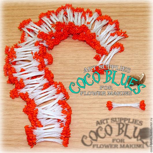 Красные каплевидные тычинки  Тайские тычинки очень хорошего качества.   `Кокосов Блюз` Таиланд  © Coco Blues (Thailand) Co. Ltd
