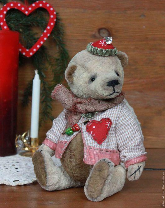 Мишки Тедди ручной работы. Ярмарка Мастеров - ручная работа. Купить Рождественский ангел.. Handmade. Бежевый, Новый Год, винтаж