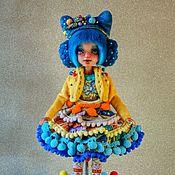 Куклы и игрушки handmade. Livemaster - original item OOAK. Bead. Jointed doll.. Handmade.