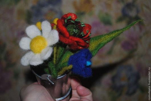 Персональные подарки ручной работы. Ярмарка Мастеров - ручная работа. Купить Букеты...свадебные,в подарок.. Handmade. Букет цветов, лето