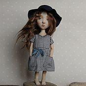Куклы и игрушки ручной работы. Ярмарка Мастеров - ручная работа Ася кукла статичная интерьерная. Handmade.