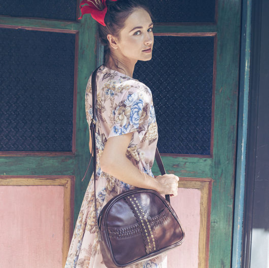 Женские сумки ручной работы. Ярмарка Мастеров - ручная работа. Купить Ma Fleur. Нарядная сумка на каждый день. Handmade.