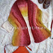 Одежда handmade. Livemaster - original item Knitted gradient cardigan. Handmade.