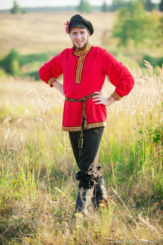 Мужской костюм в русском стиле арт.1218, Народные костюмы, Москва,  Фото №1