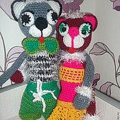 Куклы и игрушки ручной работы. Ярмарка Мастеров - ручная работа милые котики, крючок, связаны с любовью. Handmade.