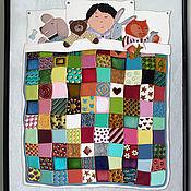 """Картины и панно ручной работы. Ярмарка Мастеров - ручная работа Картина """"Одеяло печворк"""". Handmade."""