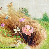 Картины и панно ручной работы. Ярмарка Мастеров - ручная работа Девушка-весна. Handmade.