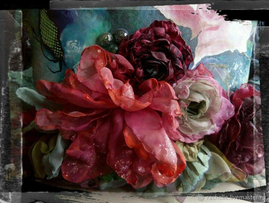 ,,  Любовь к цветам и морю,, кожаная сумочка, Классическая сумка, Рига,  Фото №1
