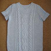 Одежда ручной работы. Ярмарка Мастеров - ручная работа Пуловер с коротким рукавом. Handmade.