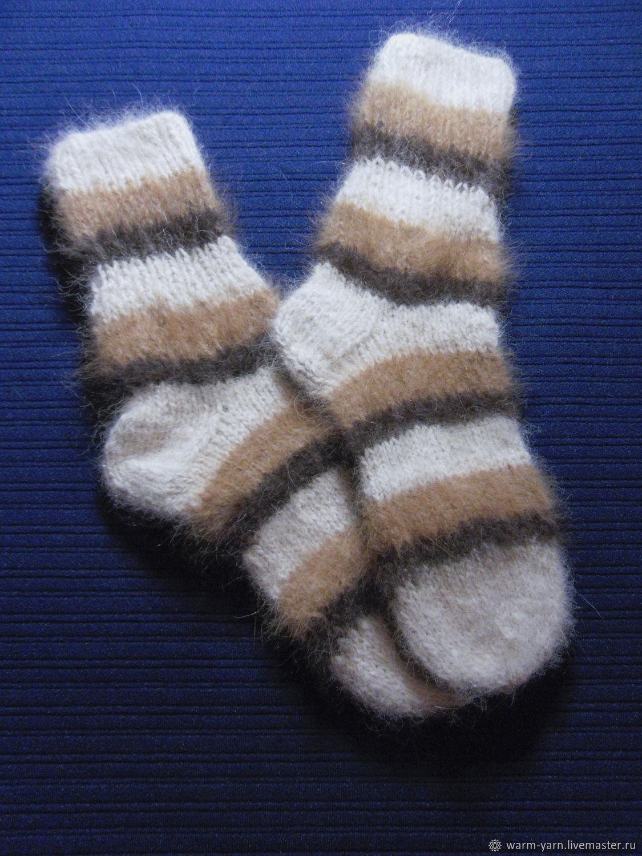 Women's knitted socks, Socks, Klin,  Фото №1