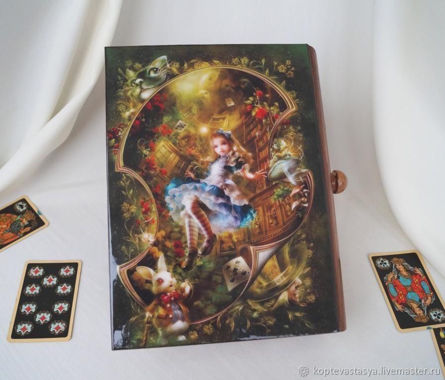 """Короб - Пенал """"Алиса"""", Шкатулки, Москва,  Фото №1"""