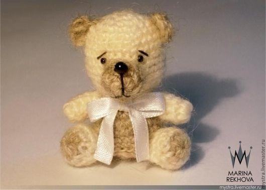 """Миниатюра ручной работы. Ярмарка Мастеров - ручная работа. Купить Амигуруми """"Медвежонок"""". Handmade. Бежевый, медведь, амигуруми"""