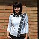 Блузки ручной работы. Ярмарка Мастеров - ручная работа. Купить Блузка Кокетка. Handmade. Белый, блузка женская