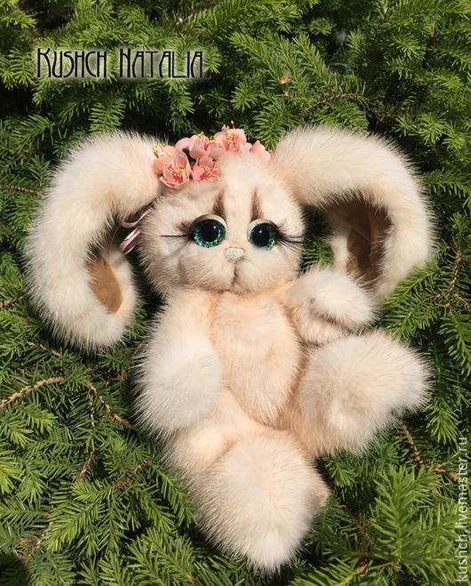 Мишки Тедди ручной работы. Ярмарка Мастеров - ручная работа. Купить Афелия, зайка из норки. Handmade. Зайка, заяц