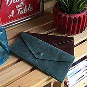 Сумки и аксессуары handmade. Livemaster - original item Wallet genuine leather