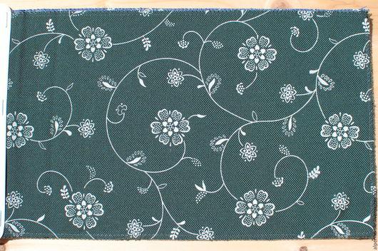 Текстиль, ковры ручной работы. Ярмарка Мастеров - ручная работа. Купить Puchenau 72. Handmade. Тёмно-зелёный, текстиль для дома