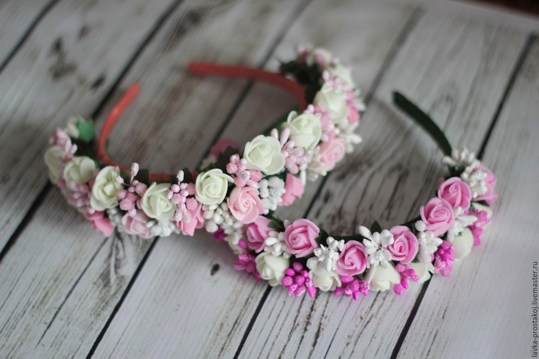 Ободок с цветами купить в магазине «Дом игрушек» 5