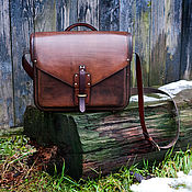 Сумки и аксессуары handmade. Livemaster - original item Bag mens genuine leather. Handmade.
