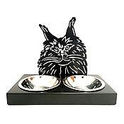 Pet Bowl handmade. Livemaster - original item Photo bowl-portrait. Handmade.