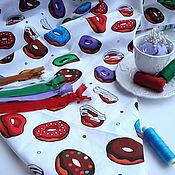 Материалы для творчества ручной работы. Ярмарка Мастеров - ручная работа Хлопок Пончики. Handmade.