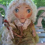 Куклы и игрушки ручной работы. Ярмарка Мастеров - ручная работа Беляночка малышка из Солнечного города. Handmade.