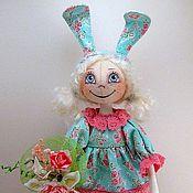 Куклы и игрушки ручной работы. Ярмарка Мастеров - ручная работа Зайка - блондинка Алесия :)). Handmade.