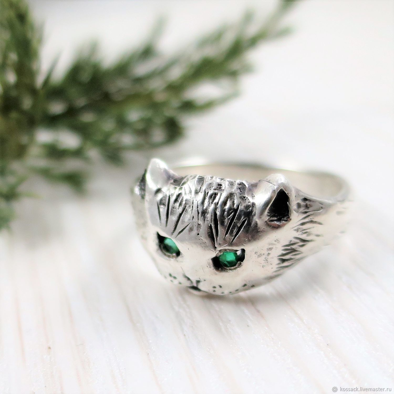 Ring Cat unisex, Rings, Zaporozhye,  Фото №1