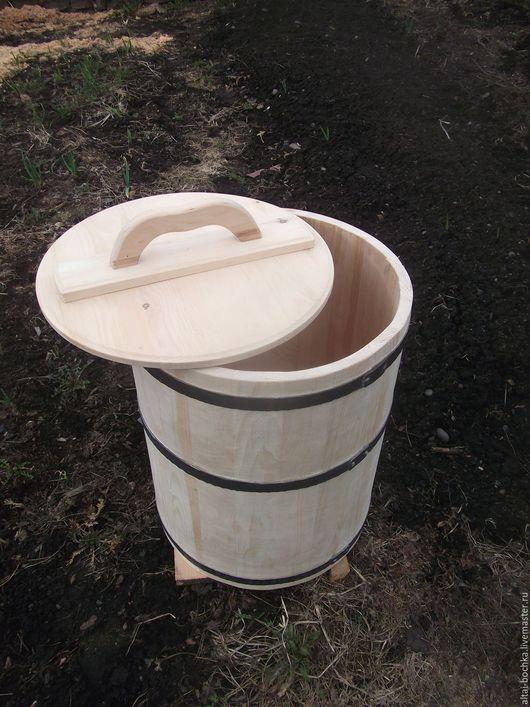 Банные принадлежности ручной работы. Ярмарка Мастеров - ручная работа. Купить кадка для воды  70 литров. Handmade. Бежевый