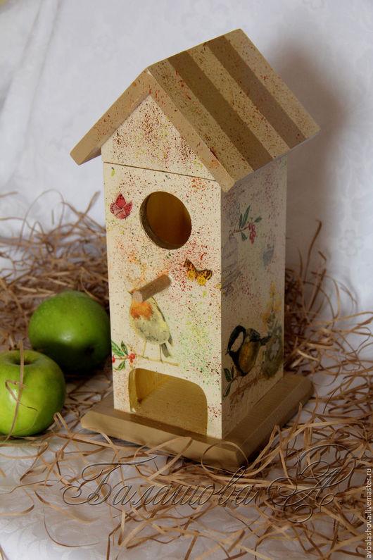 """Кухня ручной работы. Ярмарка Мастеров - ручная работа. Купить Чайный домик """"Весна в моем доме"""". Handmade. Комбинированный, весна"""