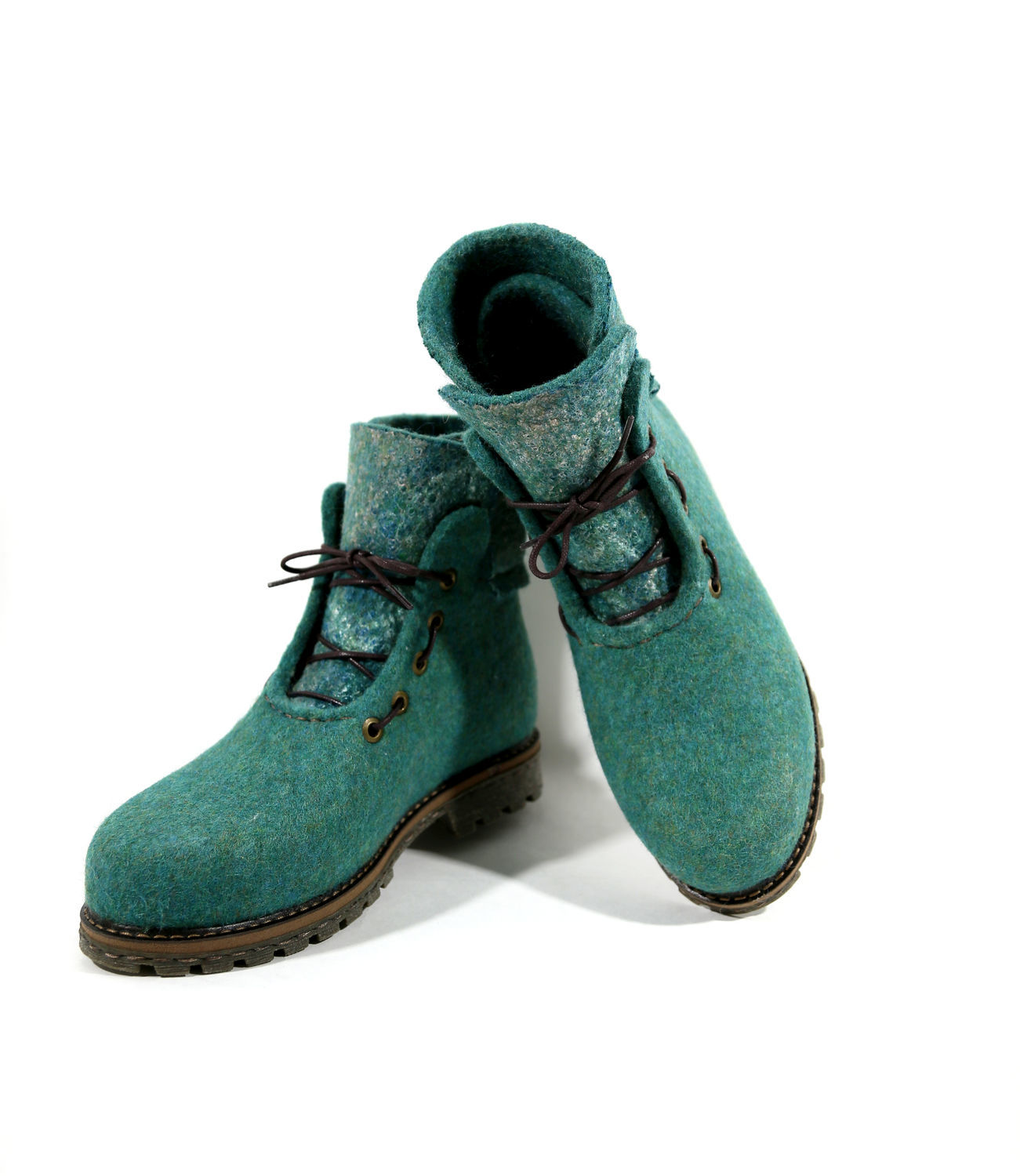 Felted Winter boots for walking, Boots, Izhevsk,  Фото №1