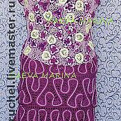 """Одежда ручной работы. Ярмарка Мастеров - ручная работа Костюм летний """"Виолет"""". Handmade."""