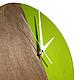Часы для дома ручной работы. Часы настенные Форест. Часы ручной работы.. Ansem-store. Ярмарка Мастеров. Эко