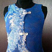 Одежда ручной работы. Ярмарка Мастеров - ручная работа Жилет войлочный. Handmade.