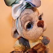 Куклы и игрушки ручной работы. Ярмарка Мастеров - ручная работа мишка Катюша. Handmade.