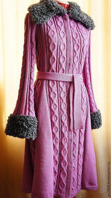 Верхняя одежда ручной работы. Ярмарка Мастеров - ручная работа. Купить Вязаное пальто. Handmade. Вязаное пальто, теплая одежда