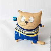 Куклы и игрушки ручной работы. Ярмарка Мастеров - ручная работа Кофейные коты (6 разных). Handmade.