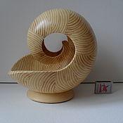 Скульптуры ручной работы. Ярмарка Мастеров - ручная работа Сульптура из дерева Наутилус - 10БМ. Handmade.