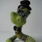 Куклы и игрушки ручной работы. Ярмарка Мастеров - ручная работа Змей Яша. Handmade.
