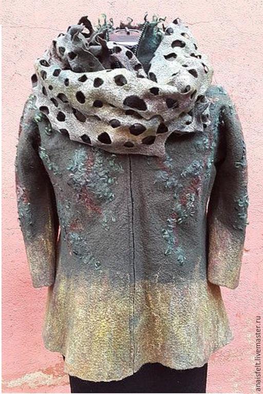 """Пиджаки, жакеты ручной работы. Ярмарка Мастеров - ручная работа. Купить Жакет валяный """"Лаура"""". Handmade. Куртка женская"""