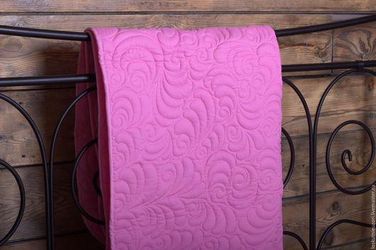 Детское стеганое одеяло `Розовая нежность`