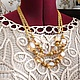 Necklace 'crystal Gold' (rock crystal, hematite). Necklace. Pani Kratova (panikratova). My Livemaster. Фото №6
