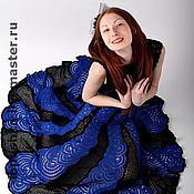 """Одежда ручной работы. Ярмарка Мастеров - ручная работа Вечернее платье """"Черное море"""". Handmade."""