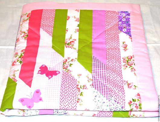 Ярмарка мастеров, ручная работа, купить детское одеяло, одеяло для ребёнка, купить, детский плед, лоскутное шитьё, для девочки, для новорожденной, одеяло на выписку, детское постельное бельё