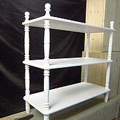 Для дома и интерьера handmade. Livemaster - original item Bunk white bookcase. Handmade.