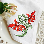 Для дома и интерьера handmade. Livemaster - original item Napkin for Breakfast with Embroidery