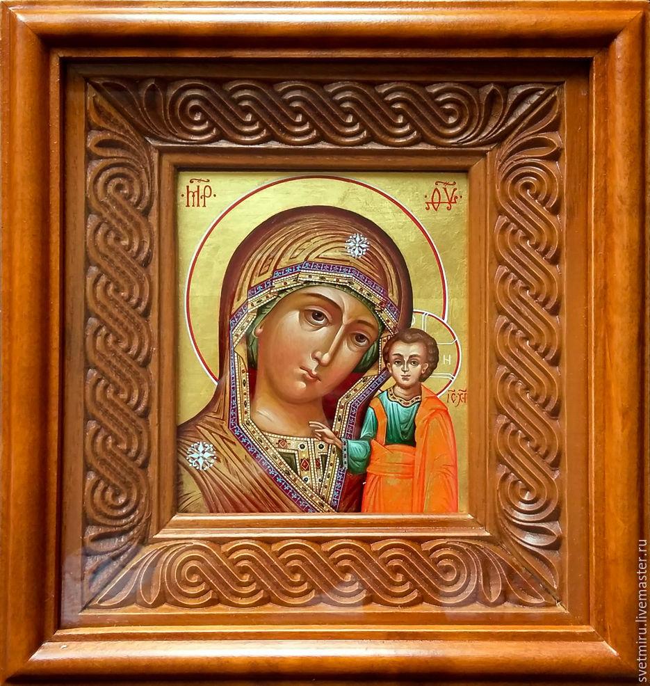 янтовская мария иконы казанской фото течёт