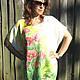 Author's blouse tunic Maki batik, Tunics, Slavsk,  Фото №1